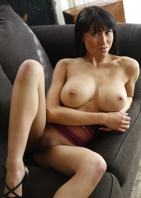 Busty asian mother